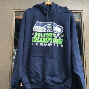 Gildan  NFL Seattle Seahawks  Hoodie Sweatshirt
